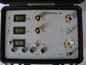 TESTER KRS-04 pohled na palubní desku